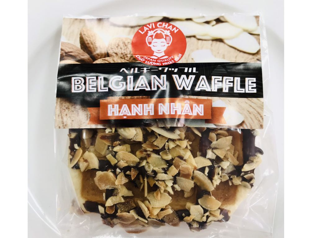 Belgian Waffle Hạnh Nhân